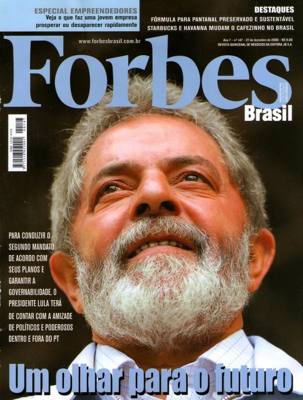 Edição nº 147 da Revista Forbes Brasil, publicada em 27 de dezembro 2006