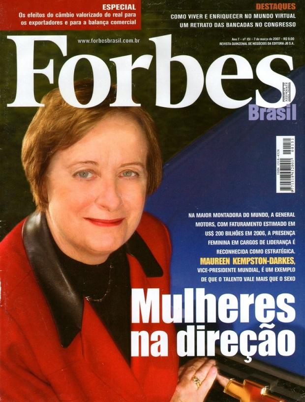 Revista Forbes Brasil - edição 151 de 7 de março de 2007